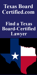 Texas Board Certified lawyer small